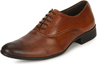 Escaro Everyday Wear Men's Leather Formal Oxford Lace Up Dress Shoes