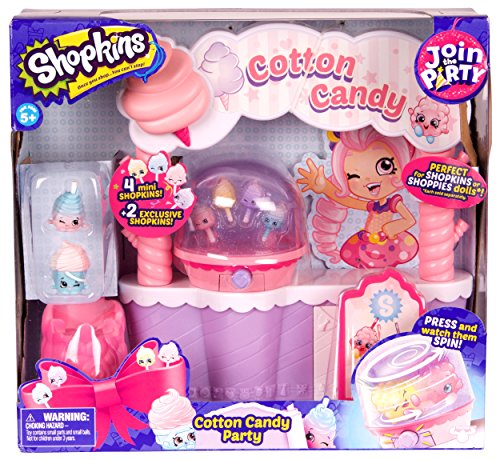 Shopkins Join the Party Playset - Cotton Candy Party