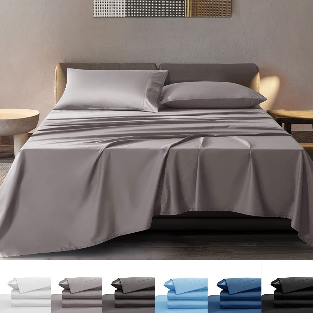 SONORO KATE Special Campaign 100% Bamboo Sheets Set Soft - Breathable Super National uniform free shipping Cooli