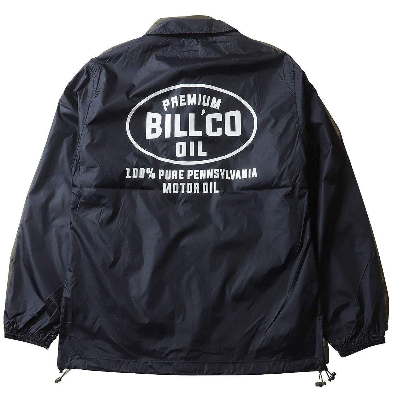 (ビルバン) BILLVAN 高密度ナイロン 撥水 BILLCO コーチジャケット メンズ アメカジ