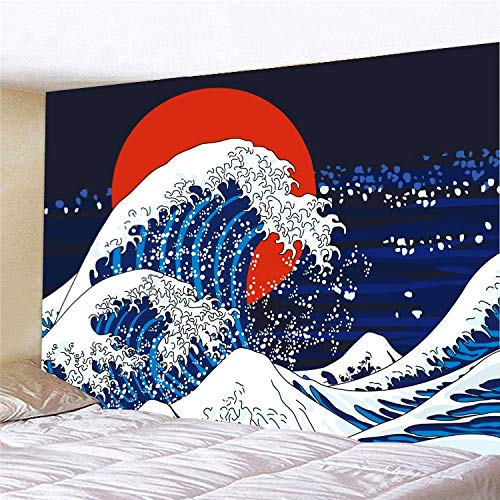 WERT Moda Creativa Mandala patrón Tapiz tapices de Pared Manta psicodélica Colcha de Playa Tela de Fondo A1 150x200cm