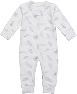 f891fe5fcdc0 Amazon.com  Whites - Footies   Rompers   Clothing  Clothing