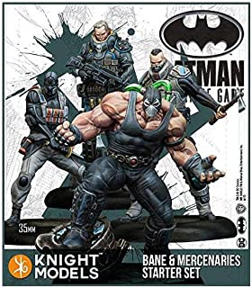 Batman Miniature Game - Bane and Mercenaries Starter Set