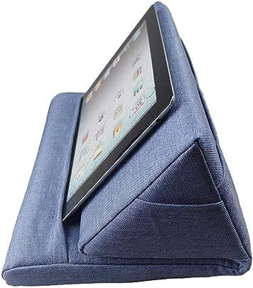 Rich-home Tablet Stand Kissenhalter  Laptop Kissen Lap Stand Halter Tablet Rest Kissen Geeignet zum Lesen  Surfen im Internet  Smartphones  B cher  Zeitschriften  Blau