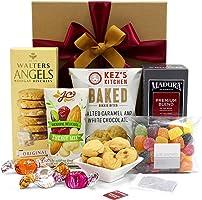 Tea Lover Gift Hamper with Premium Tea, Nougat Biscuits, Salted Caramel Bites and Fruit Jubes