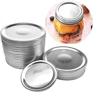 24 wide Mouth Mason Jar Lids, Split-Type Canning Jar Lids with Leak Proof Silicone for Mason Jar Canning Lids(24 wide mout...