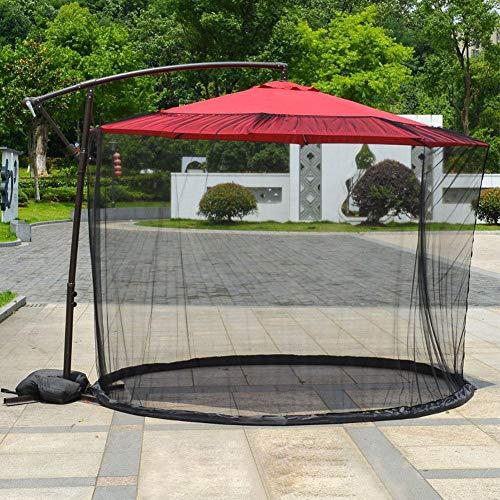 Mosquitera para patio, cubierta de mosquitera, cubierta de mosquitera, cubierta de malla con cremallera