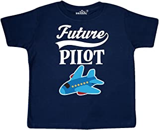 Future Pilot Childs Airplane Flying Toddler T-Shirt