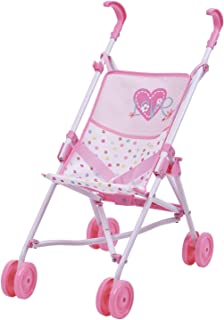 Love Heart Doll Umbrella Stroller