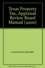 Texas Property Tax, Appraisal Review Board Manual (2000)