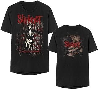 Slipknot .5 The Gray Chapter Red Title Album T-Shirt