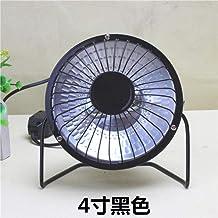 Yuan Dun'er 4 6 9 Pulgadas de Escritorio pequeña calefacción Solar/Calentador Solar/calefacción eléctrica @ 4 Pulgadas Negro