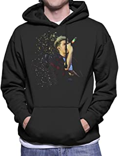 Niall Horan of One Direction Murrayfield Stadium 2014 Men's Hooded Sweatshirt