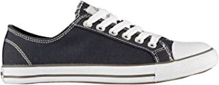 SoulCal Womens Ladies Canvas Shoes Sneakers Can Lo Pro