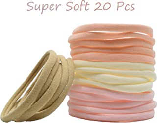Super Soft Nylon Headband For Newborn Baby Girl Kids, High Stretchy, 20 Pcs For DIY Crafts