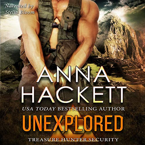 Unexplored audiobook cover art