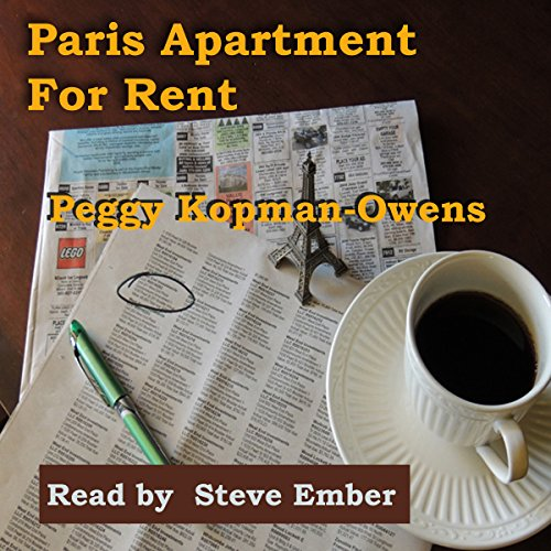Paris Apartment for Rent audiobook cover art