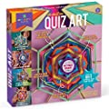 Craft-tastic - All About Me Quiz Art - Craft Kit - Answer Fun Questions to Make a Personalized Piece of Art