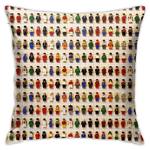 Affordable shop Lego Toys Many Pillow Covers Decorative 18x158 Inch Pillowcase Square Cushion Cases for Home Sofa Bedroom Livingroom