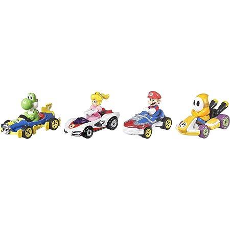 ホットウィール(Hot Wheels) マリオカート 4パック Bセット 【限定オレンジヘイホー スタンダードカート入り】 986B-GWB36