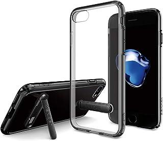 Spigen Ultra Hybrid S designed for iPhone 7 / iPhone 8 case / cover - Black (translucent)