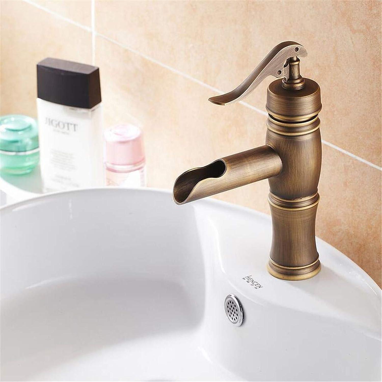 Brass Bathroom Faucet Bath Toilet Retro Basin Faucet Single Handle Wash Basin Taps Lavatory Faucet