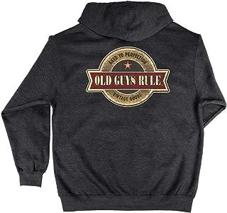 Hooded Sweatshirt for Men | Vintage Star | Pullover Hoodie | Charcoal