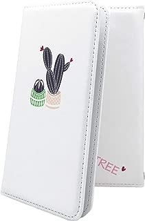 HUAWEI Mate10 Pro ケース 手帳型 サボテン ホワイト 花 花柄 フラワー ファーウェイメタ ファーウェイ メタ プロ ケース 手帳型ケース 植物 砂漠 果肉植物 Mate10Pro ケース ロゴ ロゴ入り ワンポイント