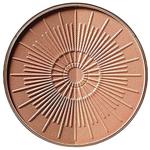 ARTDECO Bronzing Powder Compact Long-Lasting Refill, Bronzer Puder, Nachfüllung, Nr. 50, almond