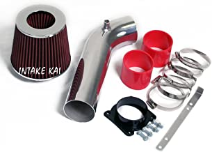 Fits 2003-2006 Nissan 350Z 350ZX INFINITI G35 FX35 3.5 3.5l V6 Air Intake Kit Systems Red + FILTER