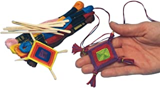 S&S Worldwide Ojo De Dios Medallions Craft Kit (Pack of 36)