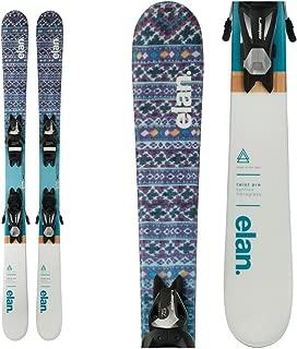 Elan Jr Twist Pro QS Ski w/EL 7.5 AC Shift B90 Black/Silver WB Binding 2019 125