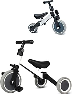 COOLBABY 3 in 1 children's tricycle for children 2-4 years old 3-wheeled bicycle for boys and girls 3-wheeled toddler tric...