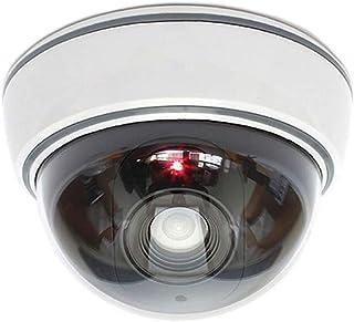 Dummy camera dummy met lens videobewaking warenbeveiliging bewakingscamera fake camera met rood LED-licht bedrieglijk echt...