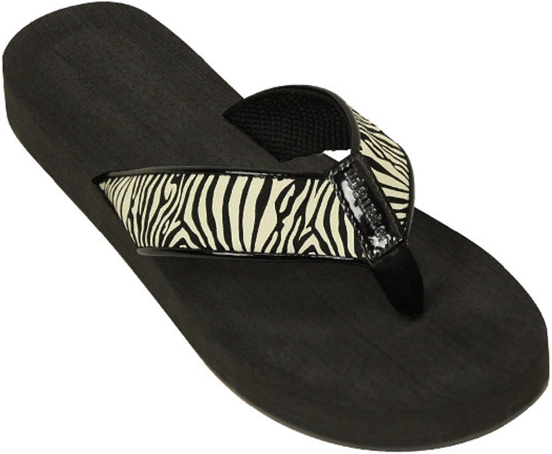 Tidewater Womens Boardwalk Flip Flop Sandals