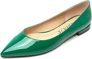 CASTAMERE Chaussures Plates Femme Bout Pointu Mode Ballerines Basse Talon Escarpins