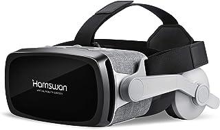 Casque de Réalité Virtuelle pour Jeux et Films, VOGMOGO TRRND Lunette 3D VR, Casque VR Virtuelle Lunettes Casque Compatibl...