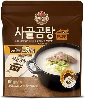 CJ Beksul Beef Bone Broth Soup Concentrate (2-Pack)