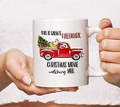 This Is My Hallmark Christmas Movie Watching Mug White 11oz 15oz Ceramic Mug