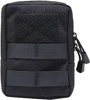 Yalatan Táctico 1000D Bolsa de Cintura para Exteriores, Multitool Molle Pouch Tool Zipper Paquete de Cintura, Accesorio de Caza Bolsa de cinturón Duradera