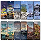 Spanish Religious Bible Quotes Bookmarks for Doing The Impossible (RVR1960) (30-Pack) - Great Spanish Bible Text Compilation About Doing The Impossible