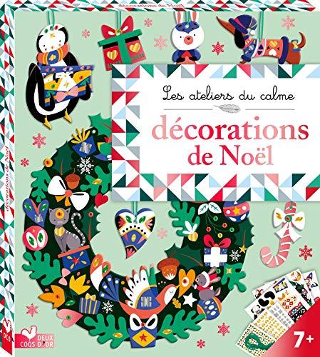 Décorations de Noel - boîte avec accessoires