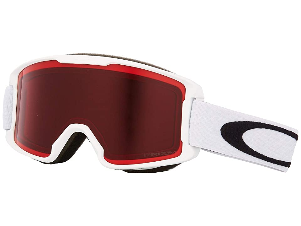 Oakley Line Miner (Youth) (Matte White w/ Prizm Rose) Snow Goggles