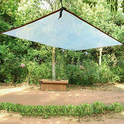MYMAO 01 dikke transparante tarps waterdichte zonwering kunststof doek buitenshuis balkon stofbescherming overkapping installatie strekt kassen luifels