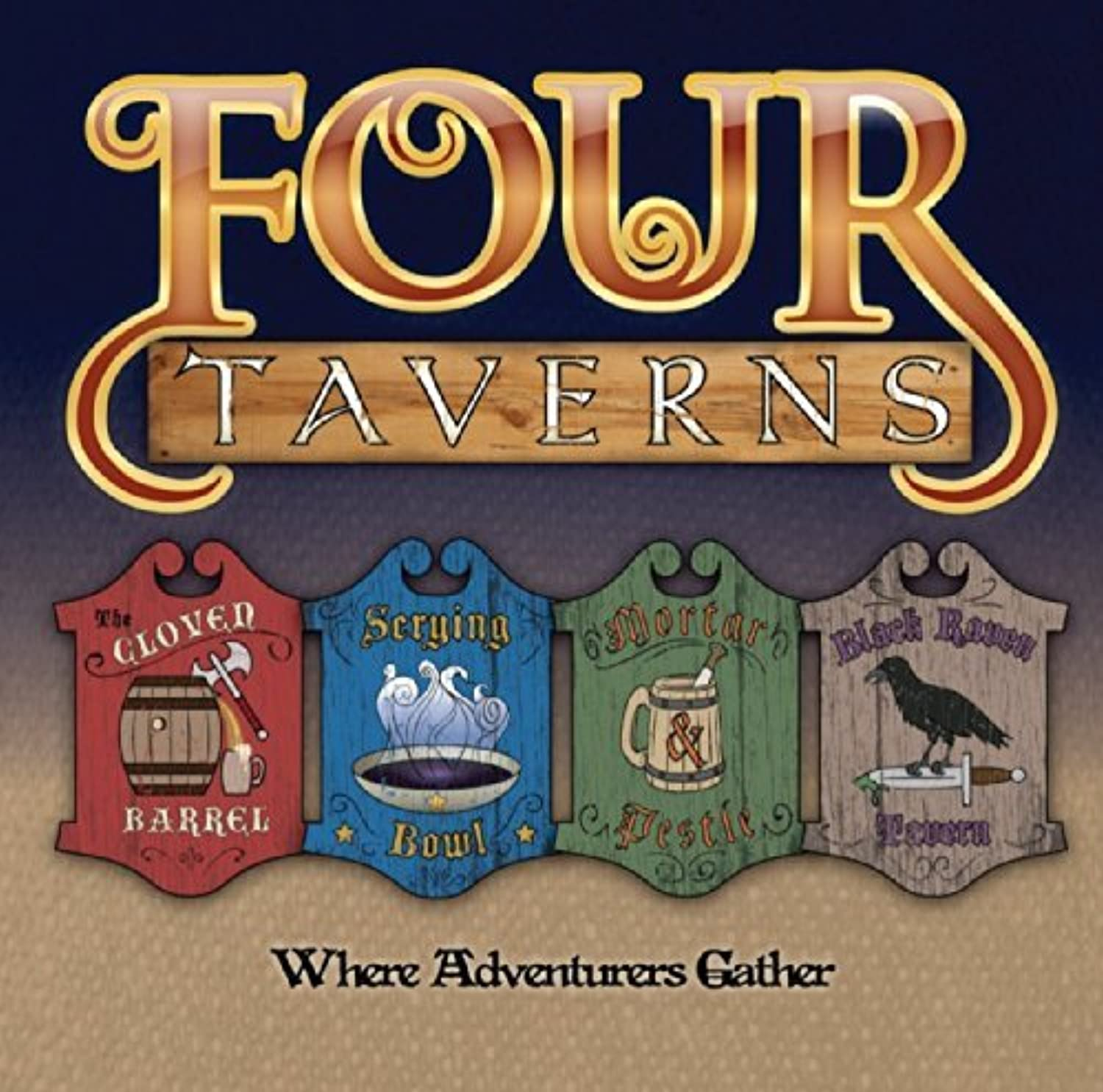 Four Taverns by Rather Dashing