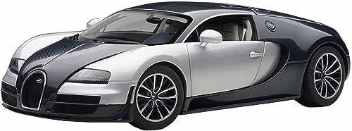 AUTOart 1 18 Bugatti Veyron Super Sport (Dunkelblau   Silber-Weiß) (Japan Import   Das Paket und das Handbuch werden in Japanisch)