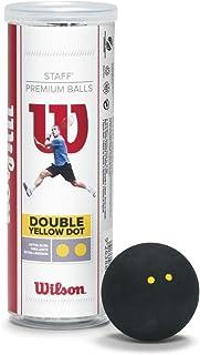 Wilson Staff Squash Balls (3-Pack)