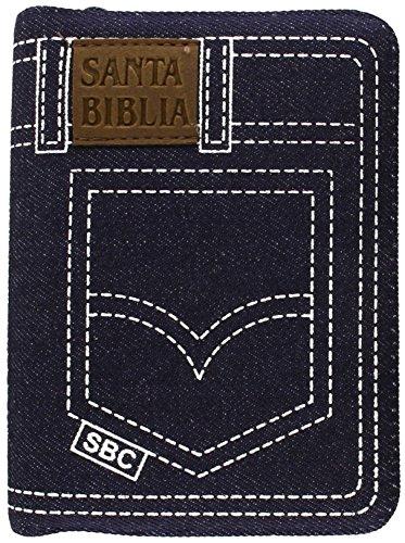 Compare Textbook Prices for Santa Biblia Jean Compacta pequeña con cierre - Reina-Valera 1960 - tela jean con índice Spanish Edition  ISBN 9789587451269 by American Bible Society