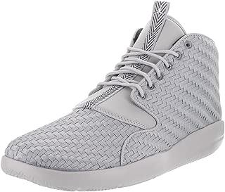Nike Men's Eclipse Chukka Wolf Grey/White Black Basketball Shoe 10 Men US