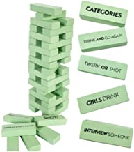 Buzzed Blocks Adult Drinking Game - 54 Blocks with Hilarious Drinking Commands and Games on 40 of Them | Perfect Pregame P...